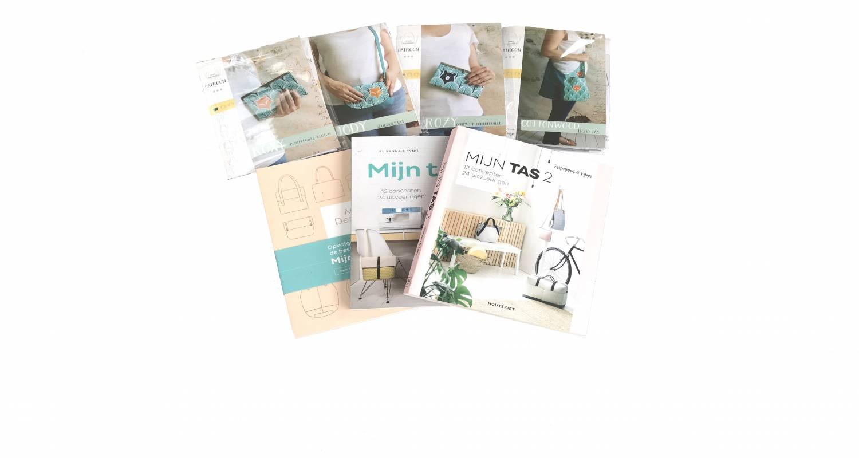 Nieuwe papieren patronen én tassenboeken!