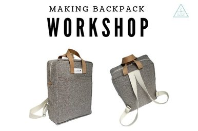 Workshop Making Backpack 12/1/2019