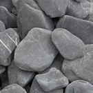 Flat Pebbles Black