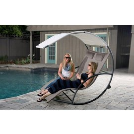 Double Chaise Rocker™ - Aluminium