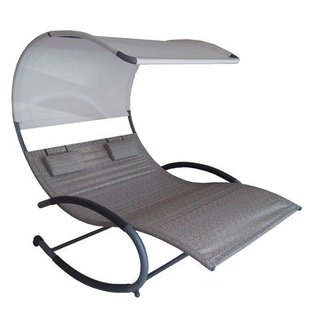 Double Chaise Rocker™ - Staal