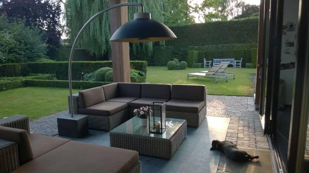 Design infrarood terrasverwarmers living luxury home garden