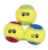Honden tennisbal 3 delig