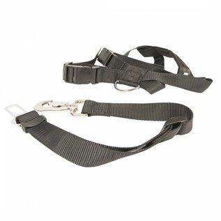 Duvo+ Honden veiligheidsharnas + gordel voor in auto maat XL