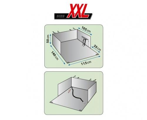 Huismerk Kofferbak beschermdeken 115x140 cm