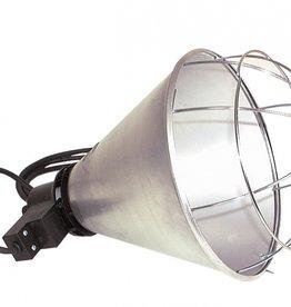 Metalen lampenhouder met kabel voor warmtelamp