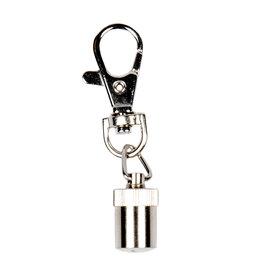 Duvo+ Led blinker Zilver 6cm