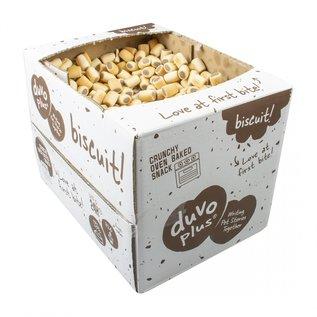 Duvo+ Hondenkoekjes mergpijp 10 kg voordeel verpakking