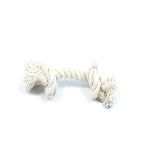 Huismerk Hondenflostouw naturel 50 gram 24 cm