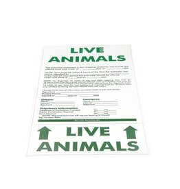 Hundos  Live Animals Sticker