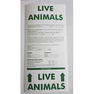 Hundos  Live Animals Sticker