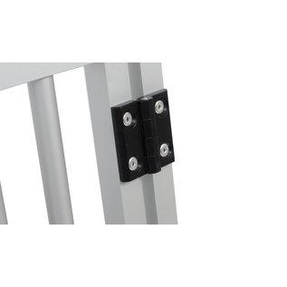 Hundos  Aluminium Deur in kozijn 48 cm. breed 64,5 cm. hoog