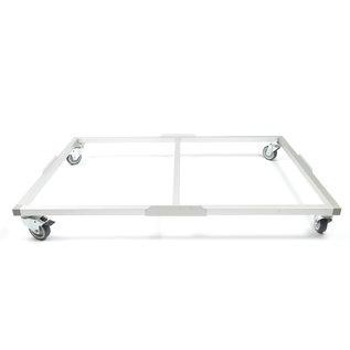 Hundos  Pro Wielenframe voor Hundos Pro Aluminium Hondenbench model DK/DL maat L