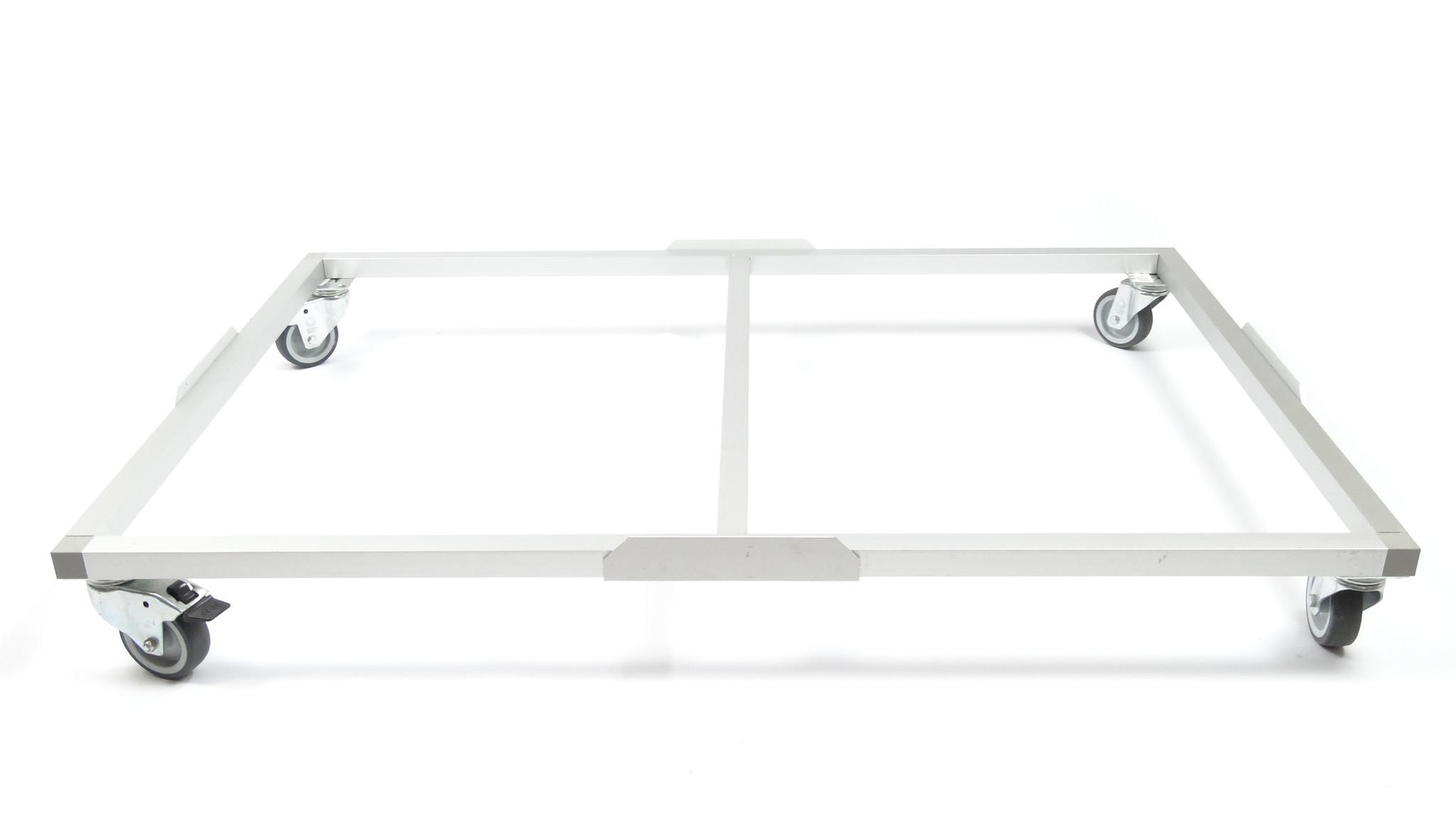 Hundos  Hundos Pro Wielenframe voor Hundos Pro Aluminium Hondenbench model DK/DL maat L