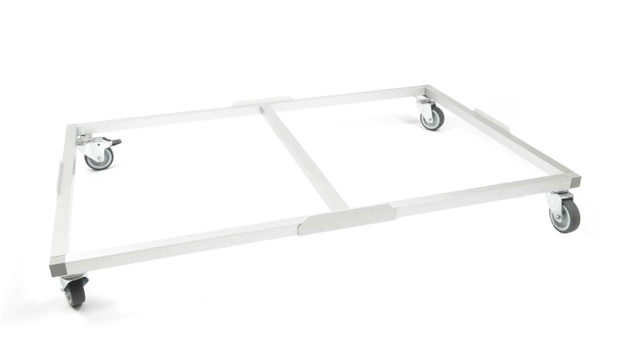 Hundos  Hundos Pro Wielenframe voor Hundos Pro Aluminium Hondenbench model DK/DL maat M