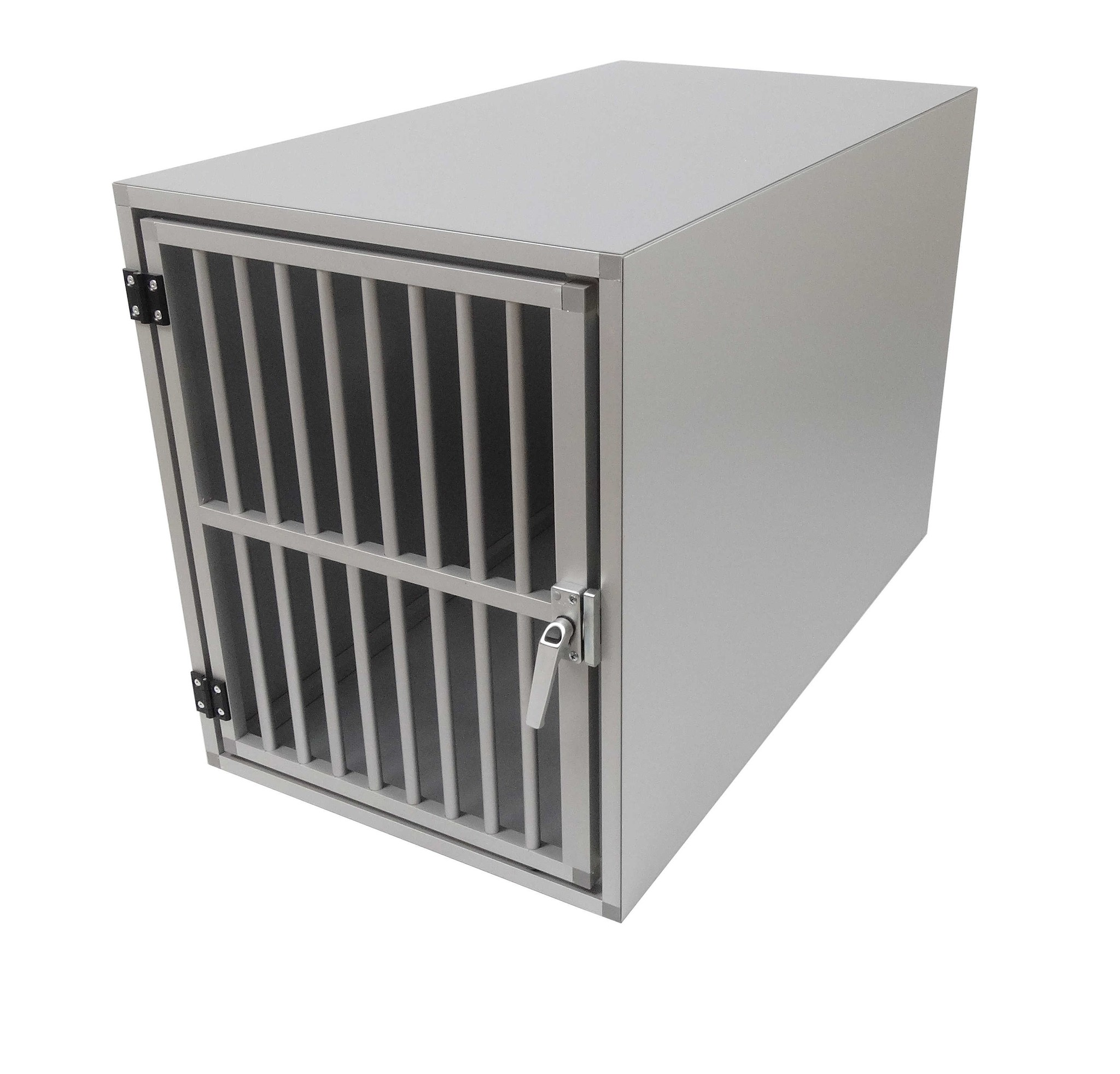 Hundos  Hundos Pro Aluminium Autobench Recht model, 100x55x67 cm met spijlen