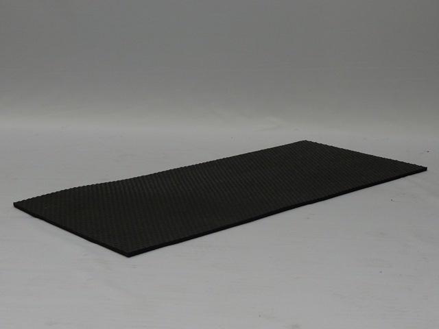 Hundos  Hundos Antislip Mat Rubber voor Autobench aluminium vast model