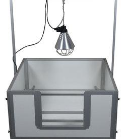 Hundos  Beugel voor warmtelamp passend bij werpkist100x100x50 cm.