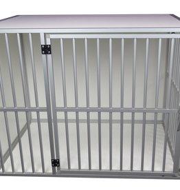 Hundos  Aluminium Hondenbench Model DL, deur rechts  Maat XL