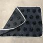 Duvo+ Vetbed grijs + voetprint 100 cm.