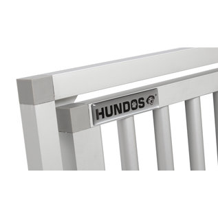 Hundos  Aluminium Deur in kozijn 50 cm. breed 69 cm. hoog.