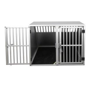 Hundos  Autobench dubbel 80x98x65 cm