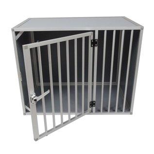 Hundos   Pro  Hondenbench Maat M Model DL 3 zijden dicht