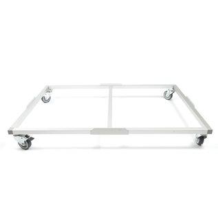 Hundos  Wielenframe voor Hundos Pro Aluminium Hondenbench model DK/DL maat S