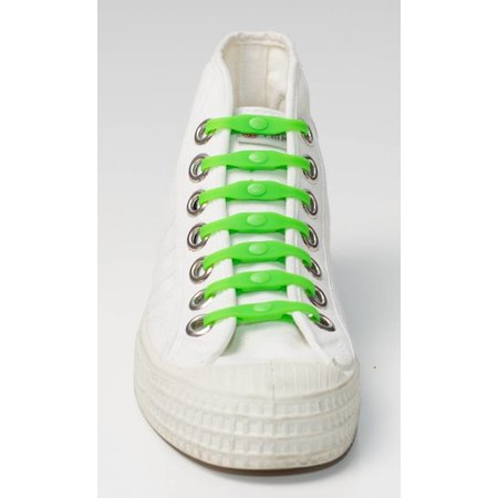 Shoeps Elastische veter groen