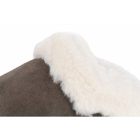 Gevavi Falun vachtpantoffel stone