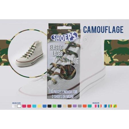 Shoeps Elastische veter Camouflage