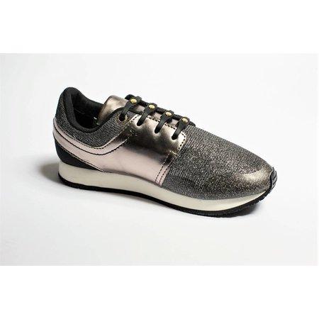 Shoeps Elastische veter zwart Gold