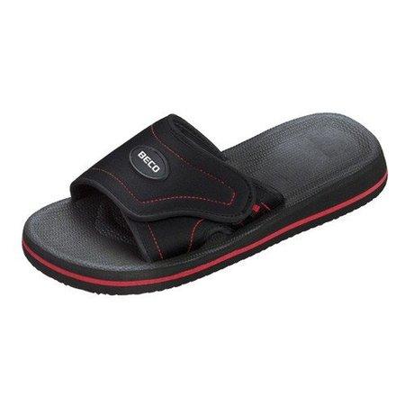 Beco slipper rood/ zwart
