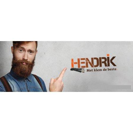 Hendrik Bretels Grijs met Zwarte streep