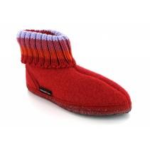 Kinder sok pantoffel rood