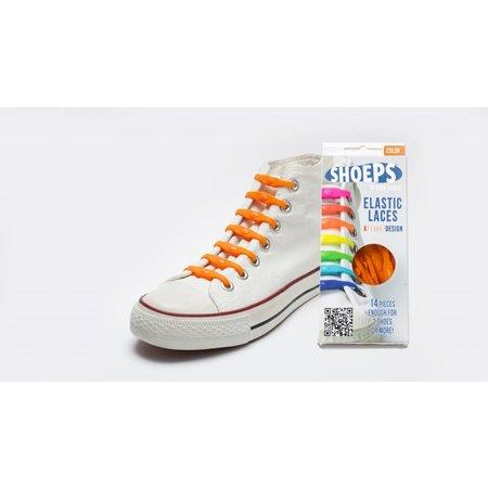 Shoeps Elastische veter Dutch orange