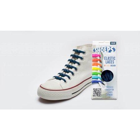 Shoeps Elastische veter Navy blue