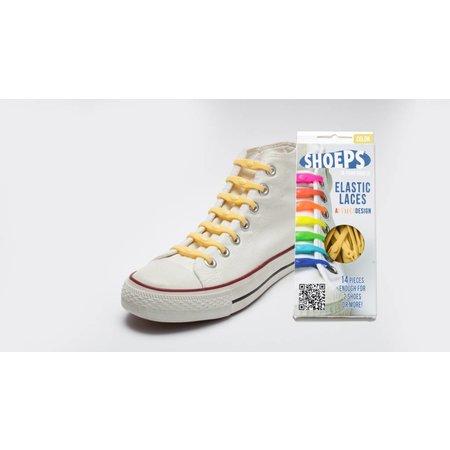 Shoeps Elastische veter Sunny Yellow