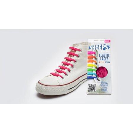 Shoeps Elastische veter Fuchsia