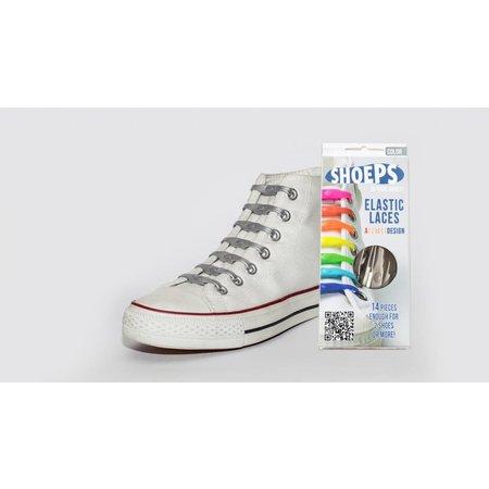 Shoeps Elastische veter zilver
