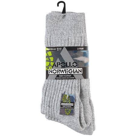 Apolle Noorse sokken 3 pack