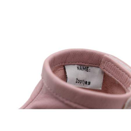 Zootjes / My First Shoes Soft Pink Babyslofjes van echt bio-leer