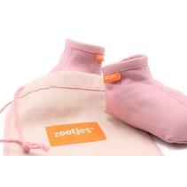 Soft Pink Babyslofjes van echt bio-leer
