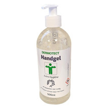 Handgel Dermotect met pomp - 500 ml - 70% alcohol