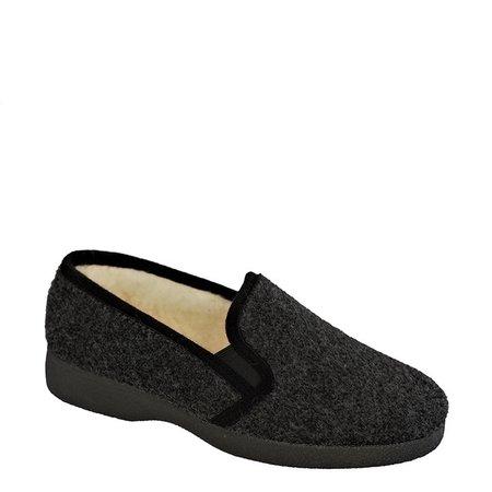 pantoffel gevoerd grijs