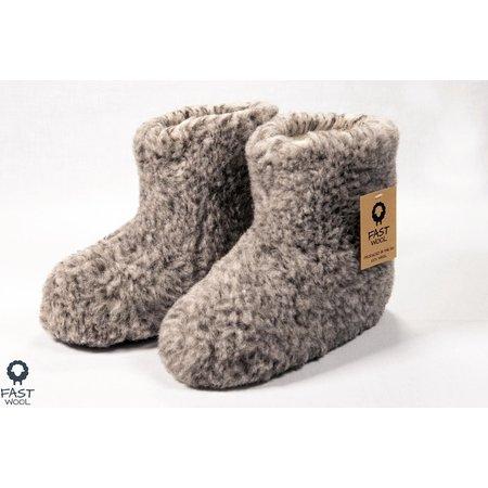FAST Wool wollen grijs t/m maat 50