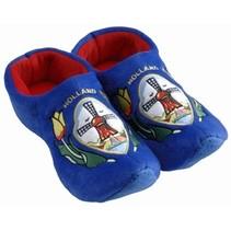 Klomp pantoffel molen blauw