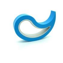 Deurstopper Licht Blauw