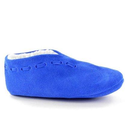 Spaanse slof royal blue