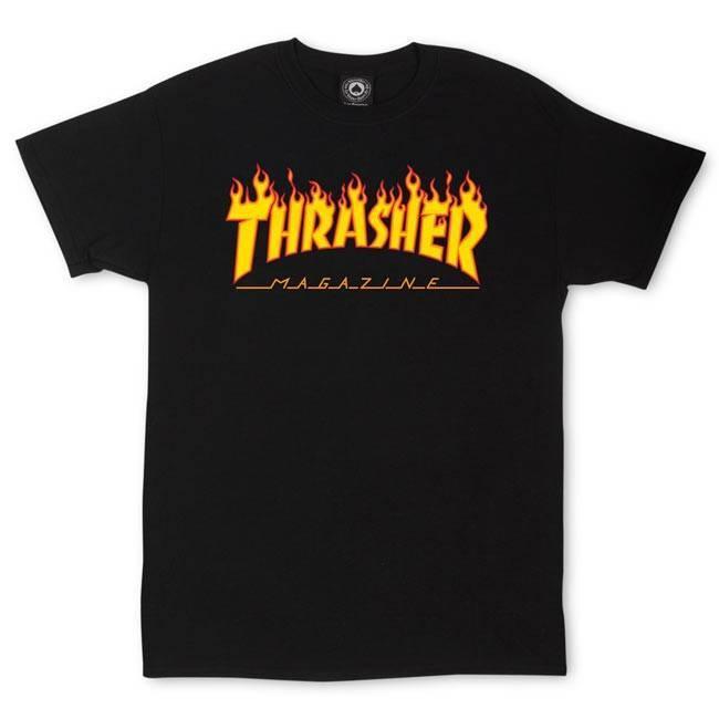 Thrasher Thrasher Flame Logo T-Shirt